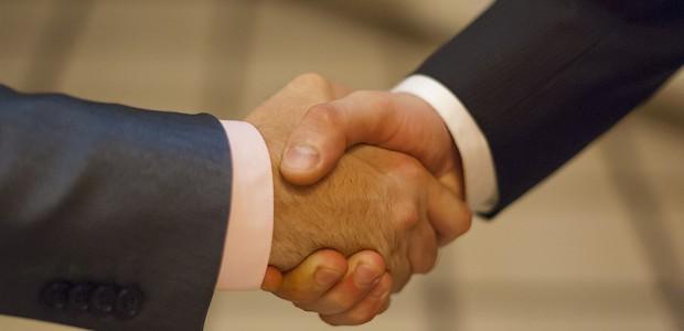 рукопожатие бизнес