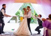 Мыльные пузыри свадьба ава
