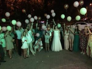 Свадьба 2 августа в Леоне