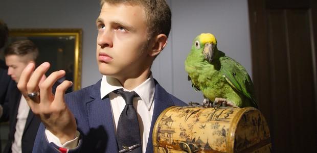 Попугай выпускной ава